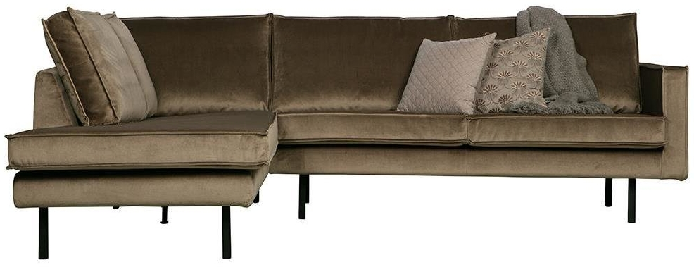 BePureHome Rodeo Eckcouch Links Taupe Bild 1