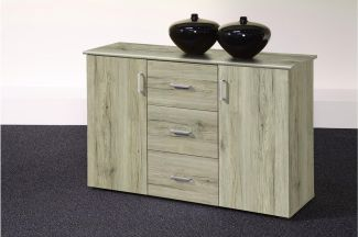 Sideboard 'LIFT 2', Eiche San Remo hell