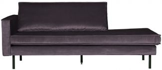 BePureHome Rodeo Daybed Links Dunkelgrau