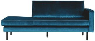 BePureHome Rodeo Daybed Rechts Blau