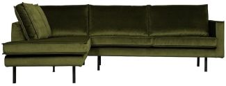 BePureHome Rodeo Eckcouch Links Olive