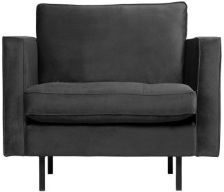 BePureHome Rodeo Classic Sessel Anthrazit