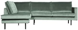 BePureHome Rodeo Eckcouch Links Mint