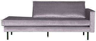 BePureHome Rodeo Daybed Rechts Hellgrau