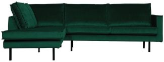 BePureHome Rodeo Eckcouch Links Green Forest