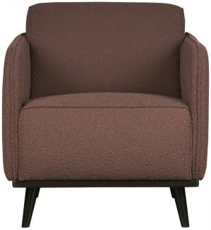 BEPUREHOME Statement Sessel Boucle Coffee