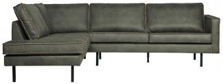 BEPUREHOME Rodeo Eckcouch Links Army 800972-A