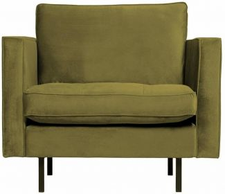 BePureHome Rodeo Classic Sessel Olive
