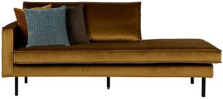 BePureHome Rodeo Daybed Links Honiggelb