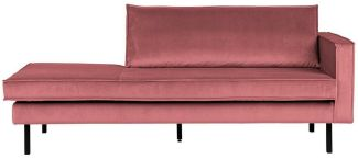 BePureHome Rodeo Daybed Rechts Pink
