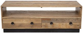 OLD PINE Lowboard Recycelte Pinie Natur