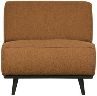 BePureHome Statement Sessel Boucle Butter