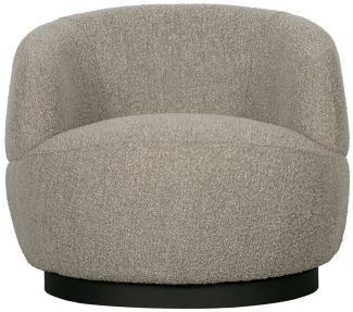 BePureHome Woolly Drehsessel Natural Mix