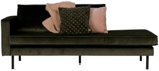 BePureHome Rodeo Daybed Links Dark Green