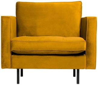 BePureHome Rodeo Classic Sessel Ochre