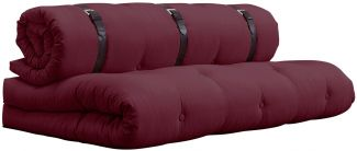 KARUP DESIGN BUCKLE UP Futonsofa Bordeaux