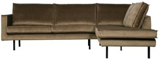 BePureHome Rodeo Eckcouch Rechts Taupe