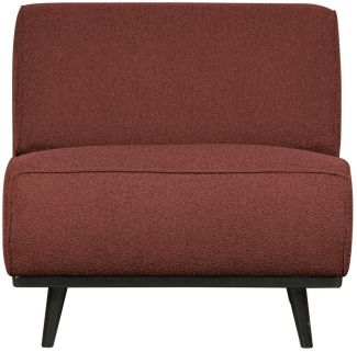 BePureHome Statement Sessel Boucle Chestnut