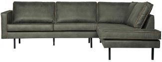 BEPUREHOME Rodeo Eckcouch Rechts Army 800971-A